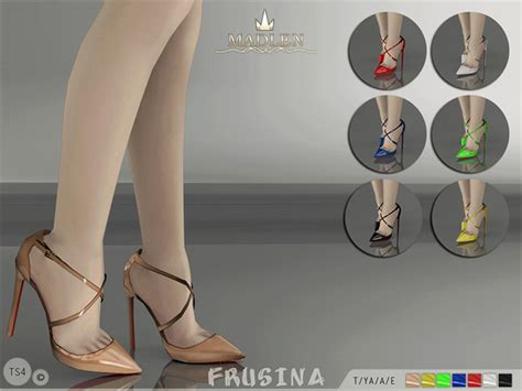 sims 4 shoes the sims resource mj95 s madlen frusina shoes