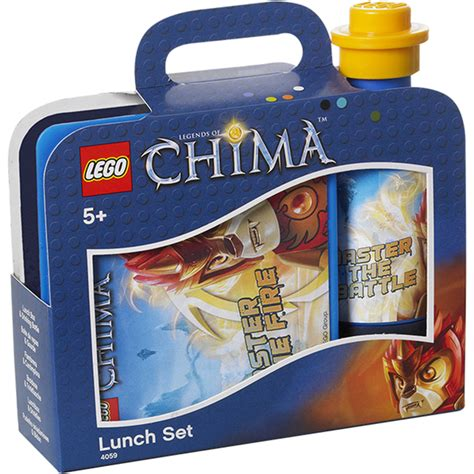 Lunch Set Homio lego chima lunch set toys zavvi