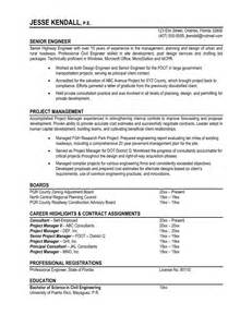 Professional Exles Of Resumes by 7 Sles Of Professional Resumes Sle Resumes