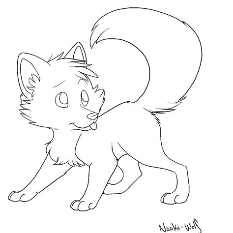 template of a fox free chibi fox template by naoki wolf on deviantart