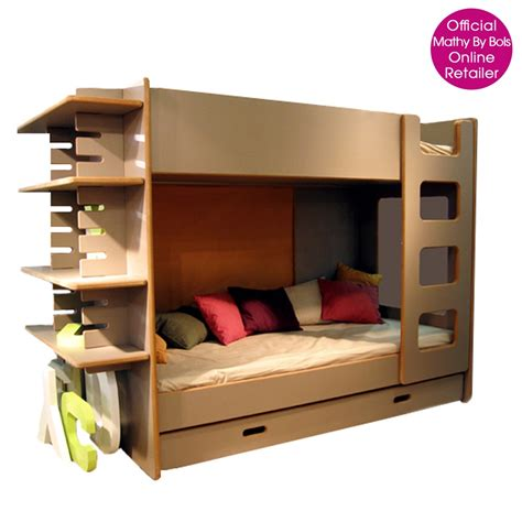 bunk bed with shelves bunk bed with shelf in david design beds cuckooland