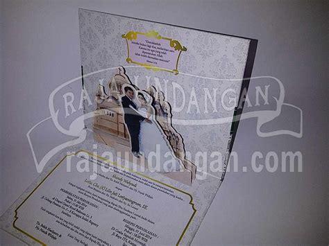 desain undangan pernikahan pop up undangan pernikahan hardcover pop up 3d shandy dan lilin