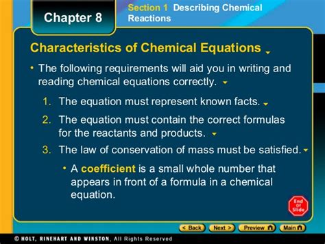 section 8 1 formation of solutions answers pre ap types of reactions activity series