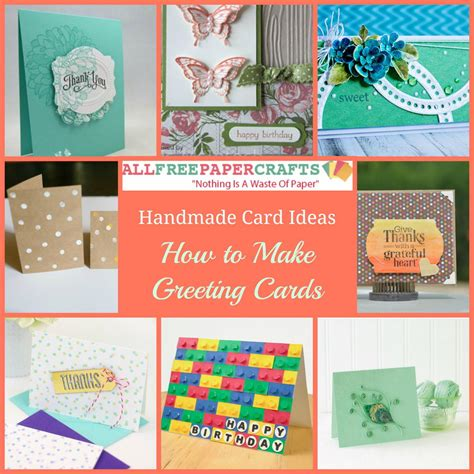 Paper Craft Cards - 35 handmade card ideas how to make greeting cards