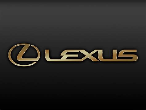 lexus is300 logo wallpaper gold lexus logo wallpaper lexus pinterest