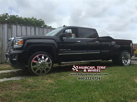 american independence 26 dually rims gmc