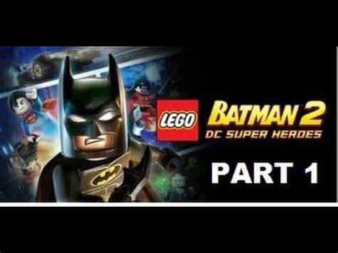 tutorial lego batman wii lego batman 2 theatrical pursuits walkthrough part 1