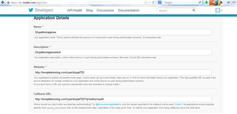 drupal how to use twitter widget api 1 1 template
