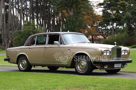 Sold Rolls Royce Silver Shadow Ii Saloon Auctions Lot
