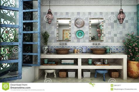 Orange Bathroom Ideas moroccan bathroom royalty free stock photography image