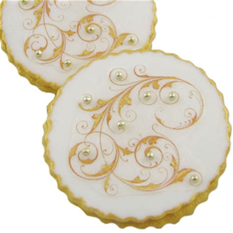 Filgree Royal Icing Tree Made Fancy Filigree Cookies How To Make Beautifully Detailed