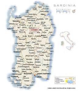 Map of sardinia italy italy courtesy of italy weatherand maps