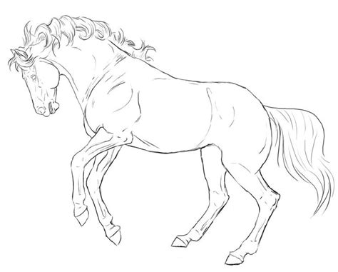 coloring pages of horses rearing 50 best horse coloring pages images on pinterest