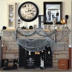 Decorative Letters For Shelves 70 Great Halloween Mantel Decorating Ideas Digsdigs