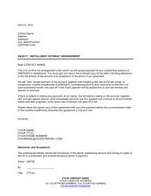 Sle Agreement To Pay Debt by Installment Payment Agreement Template Sle Form Biztree