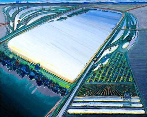 wayne thiebaud landscapes art 2d pinterest