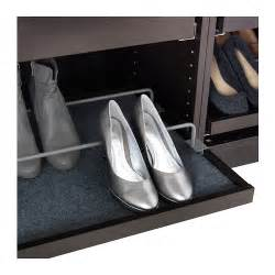 komplement shoe rail f pull out tray grey 100x58 cm