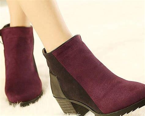 Sepatu Boots Untuk Wanita sepatu model korea untuk pria wanita terbaru wedges boots