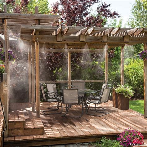 Diy Patio Misting System 2017 Wood Deck Prices Per Square Foot 12x20 Deck Cost