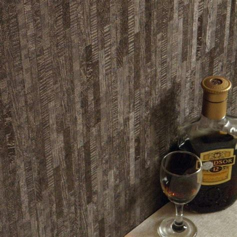 coffee stripe wallpaper dark coffee wallpaper 3d wood striped wallpaper embossed