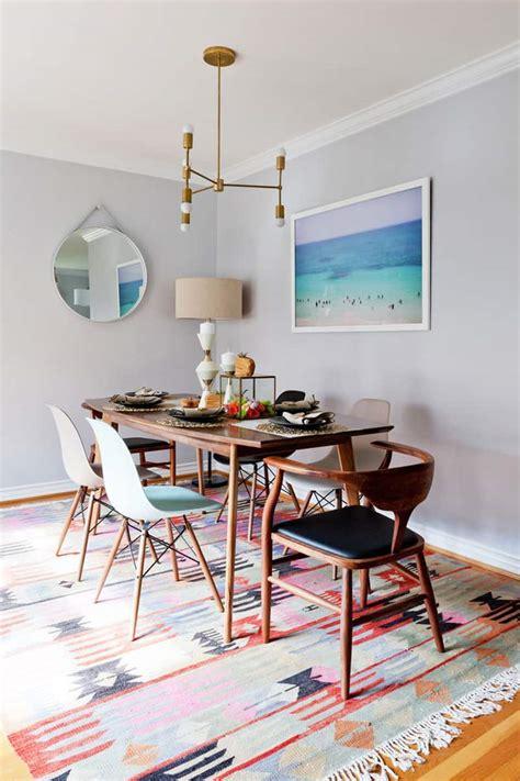 pick  rug   dining room