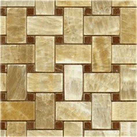 honey onyx basketweave red marble dot polished mosaics