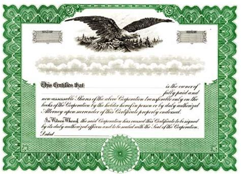 common stock certificate template doc 900636 40 free stock certificate templates word pdf