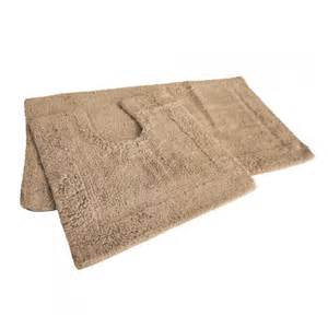 beige latte bath mat set 100 cotton tonys textiles