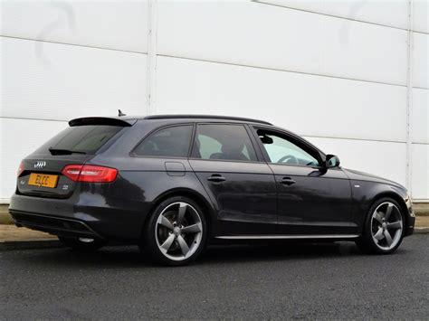 Audi A4 Avant 2012 by Used 2012 Audi A4 Avant Tdi Quattro S Line Black Edition