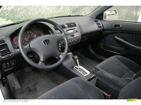 honda civic 2005 interior black interior 2005 honda civic ex coupe photo 77049691