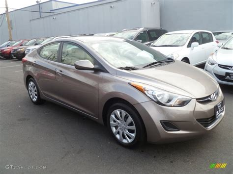 2011 desert bronze hyundai elantra gls 62312665 photo 3 gtcarlot car color galleries
