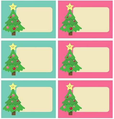 imagenes bonitas de navidad para poner nombres imprime tus etiquetas de navidad gratis para los regalos