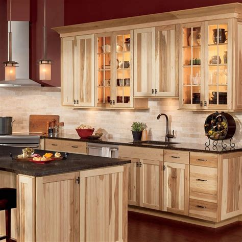 Hickory Kitchen Cabinets Lowes by Shop Shenandoah Cottage 14 5 In X 14 5 In Hickory