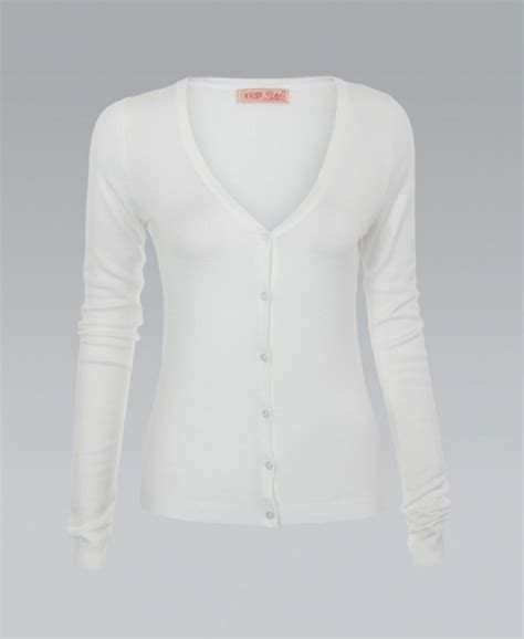 white knitted cardigan krisp button knit white cardigan krisp from