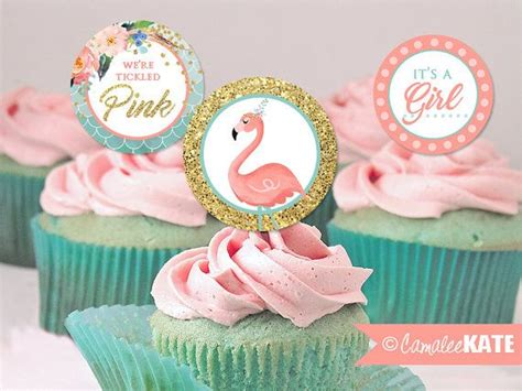 Baby Pink Flamingo tickled pink flamingo baby shower instant 2