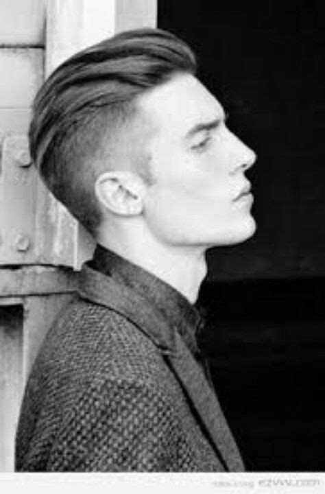 long on top to the back sides shaved men s hair in 2019