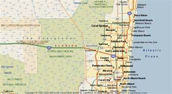 broward county florida map broward county map my
