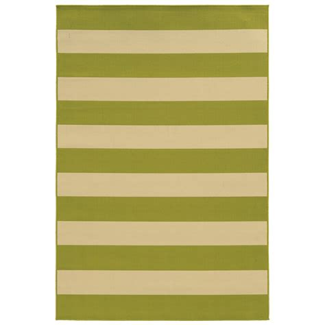 City Furniture Riviera Green Indoor Outdoor 5x8 Area Rug 5x8 Indoor Outdoor Rug