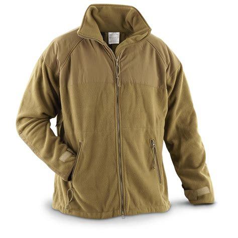fleece coat u s surplus usmc polartec 300 gram fleece jacket new 615684 insulated