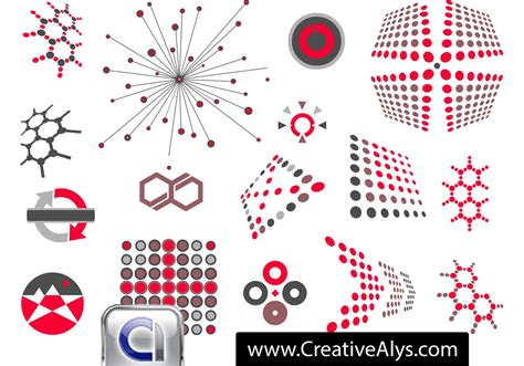 creatively designed abstract creative logo vector free vector art at vecteezy