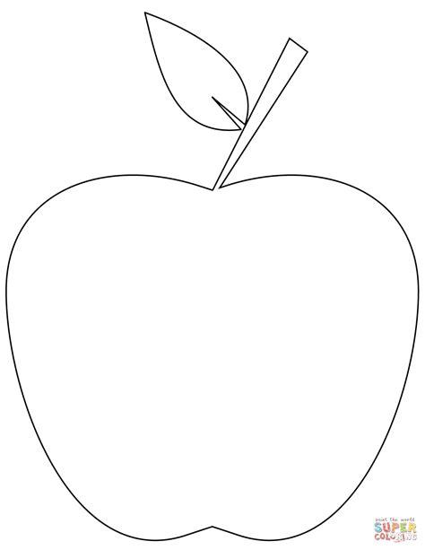imagenes para colorear manzana manzanas animadas para colorear www pixshark com