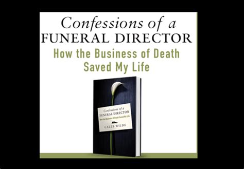 funeral director books book review confessions of a funeral director