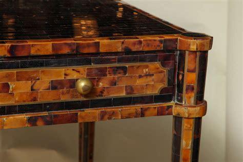maitland smith pen shell veneered desk at 1stdibs