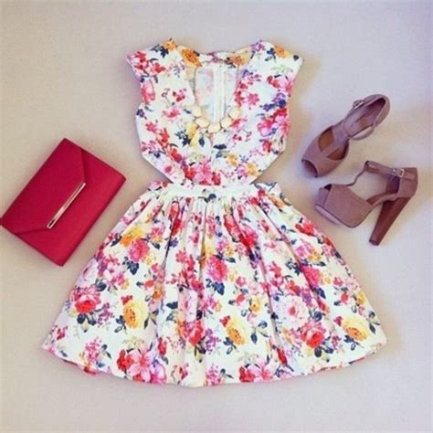 flower dresses and shoes dress floral shoes heels birthday dress pink shoes