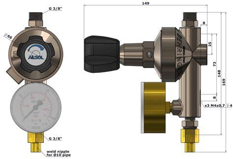 line gas pavia m line pressure regulator behringer s r l