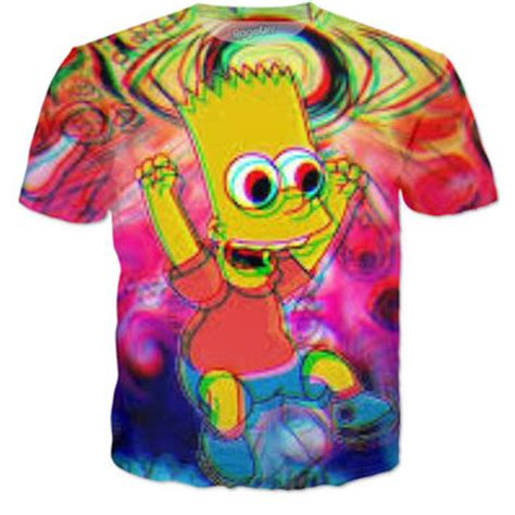 T Shirt Supreme Bart Simpsons Premium shop bart shirt on wanelo