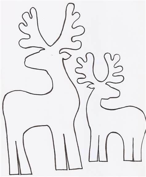 moldes para imprimir de navidad renos en madera para decorar gu 237 a de manualidades
