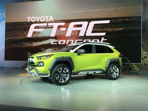 future toyota future toyota adventure concept hints of roader