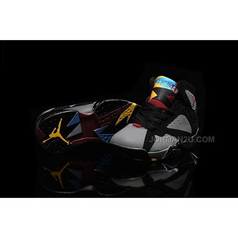 air 7 retro black bordeaux light graphite midnight fog 2016 nike air 7 vii retro bordeaux sneakers black