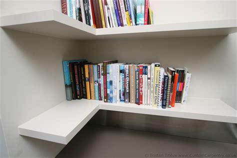 floating shelves hanging bookshelf bookshelves wall shelf decor beautiful pure white l shaped floating corner book